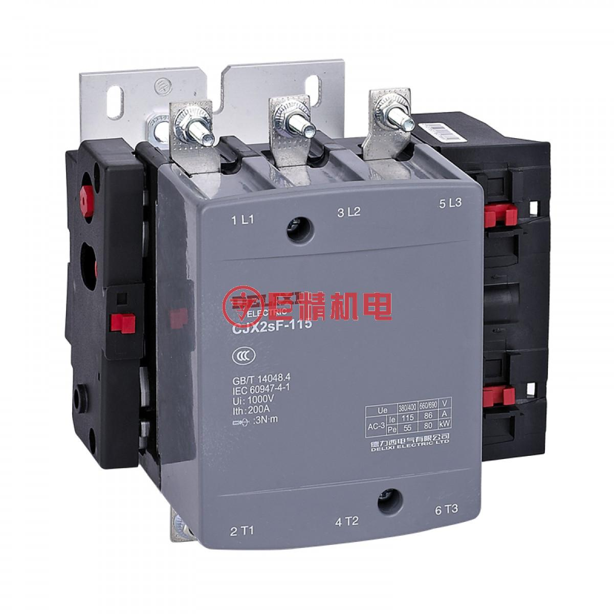 德力西交流接触器CJX2SF-800