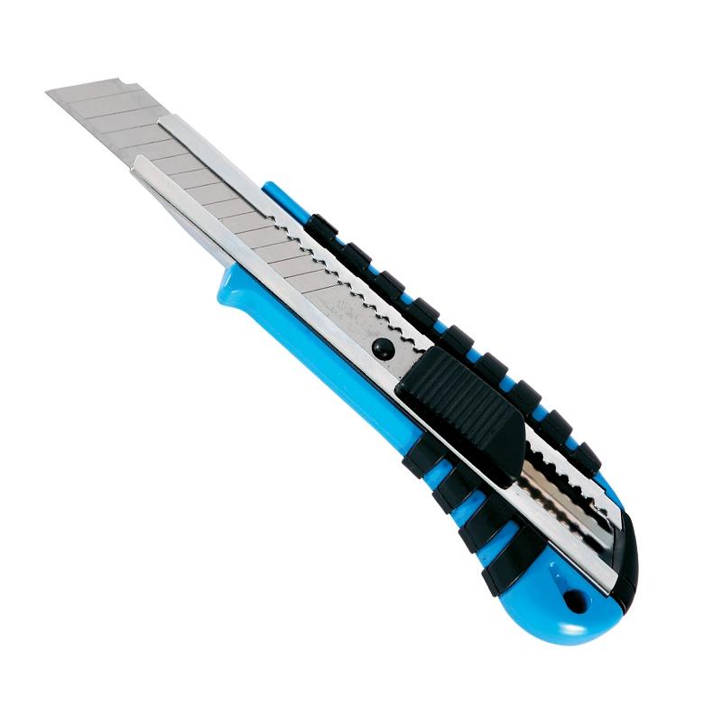 卡尔  18mm锌合金美工刀15节  50202