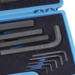 卡尔 801500515件发黑内六角扳手组套