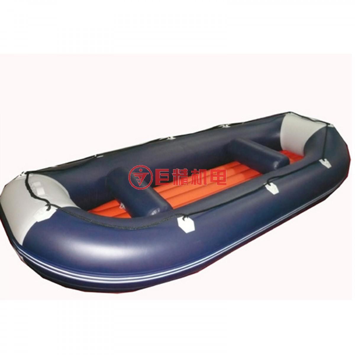 湖北博浪橡皮艇430圆头橡皮艇
