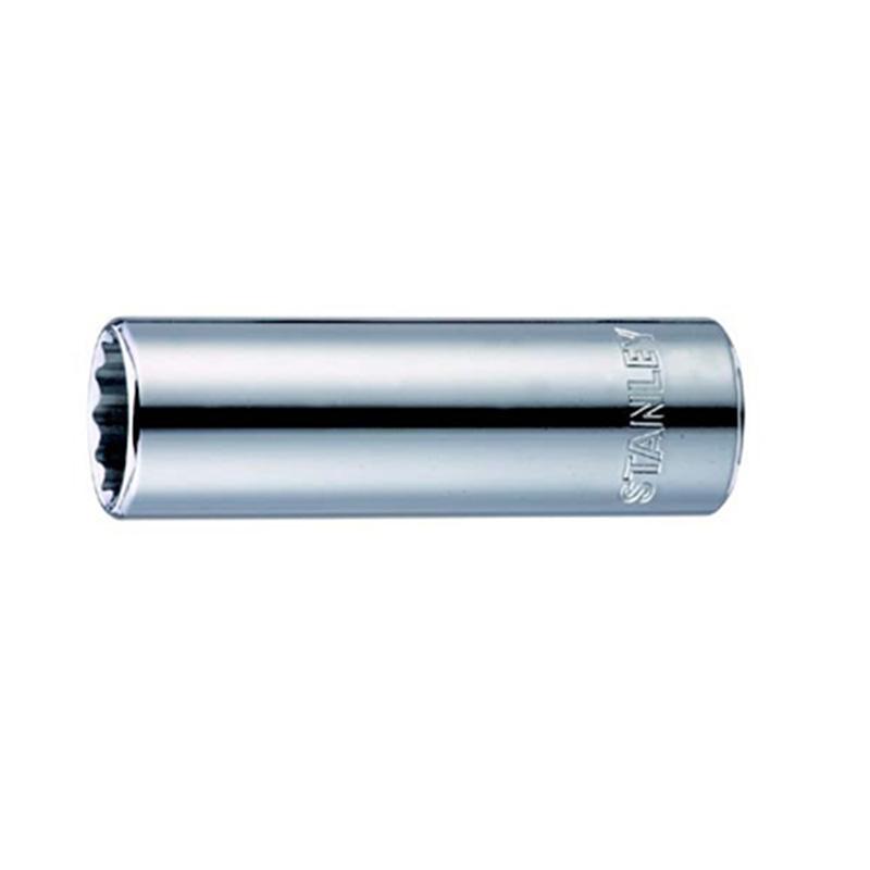 史丹利 12.5MM系列公制12角长套筒 96-381-1-22