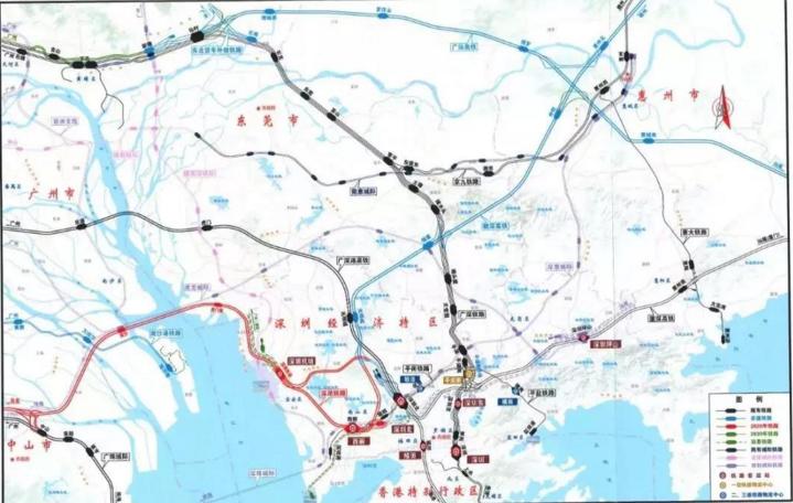 重磅!深圳铁路枢纽总图规划(2016-2030)正式获得批复!