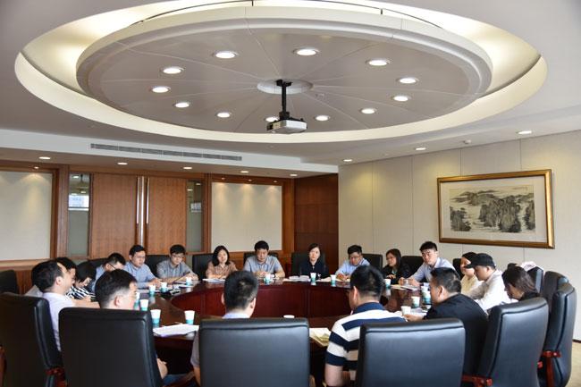 国家能源局直属机关团委召开青年干部座谈会