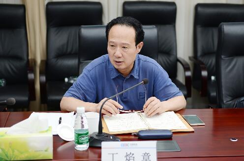 中國能建總經理丁焰章到中能裝備開展調研