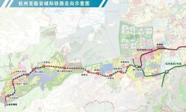 杭州遠期2025年地鐵線路表公布!這些線路有大變化!