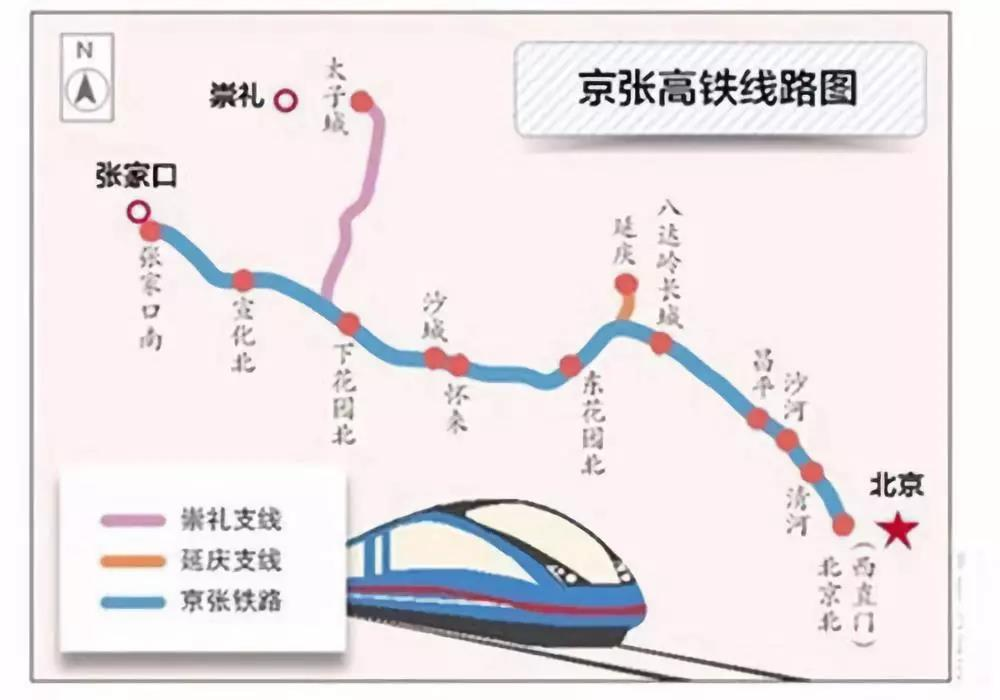 京张高铁调试正式启动,通车进入倒计时