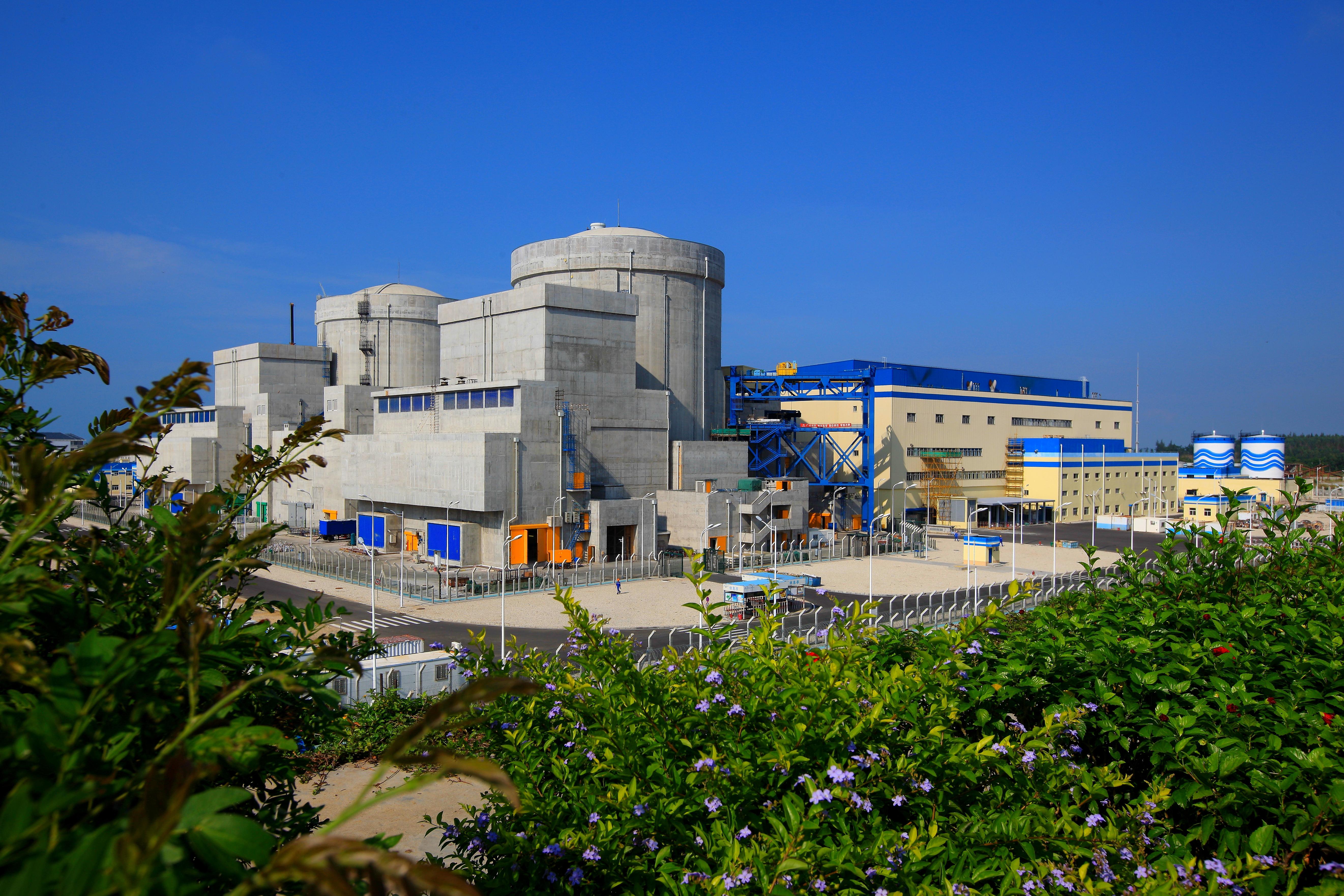 海南核电年发电量首破80亿千瓦时