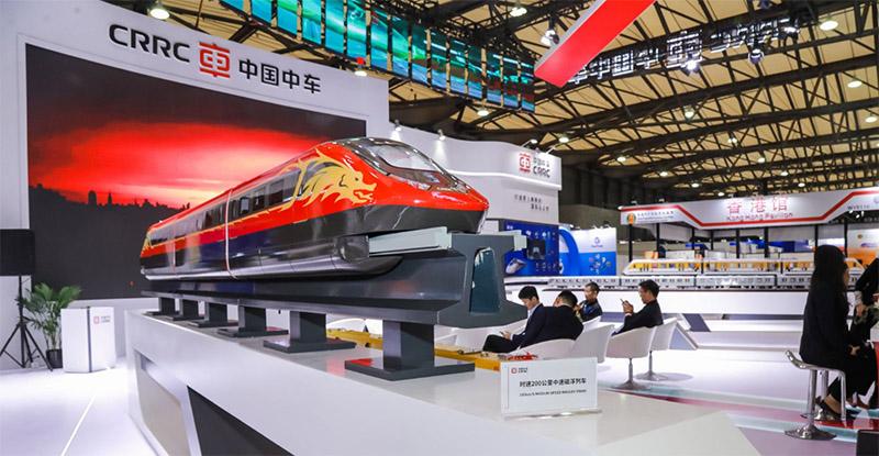 019第十四届上海国际轨道交通展开幕