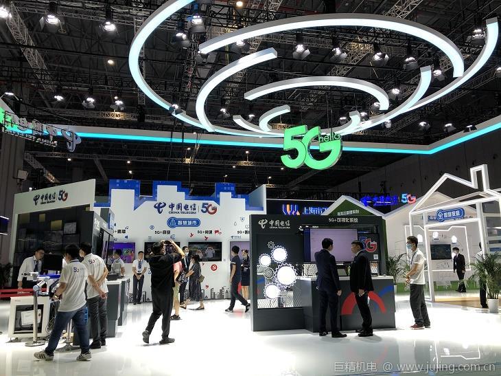 添翼上海城市能级:中国电信携22项5G特色业务亮相工博会