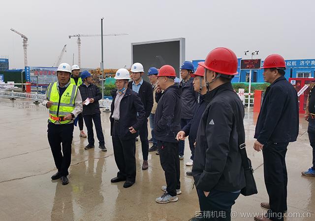 国家铁路集团企业工管中心领导到鲁南高铁站房项目监督检查