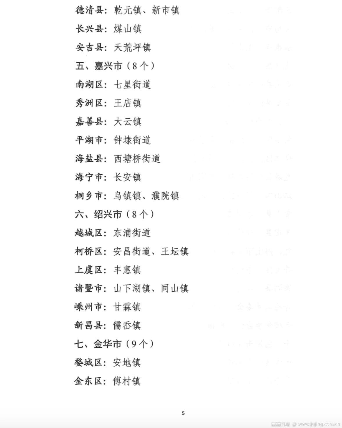 """020年度浙江省美丽城镇建设工作考核结果出炉"""""""