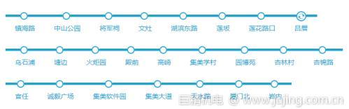 厦门地铁一号线从哪里出发?厦门地铁运营时间