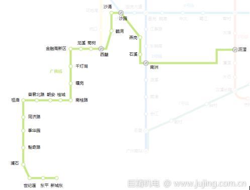 广州地铁广佛线是什么意思?广州地铁广佛线路线图