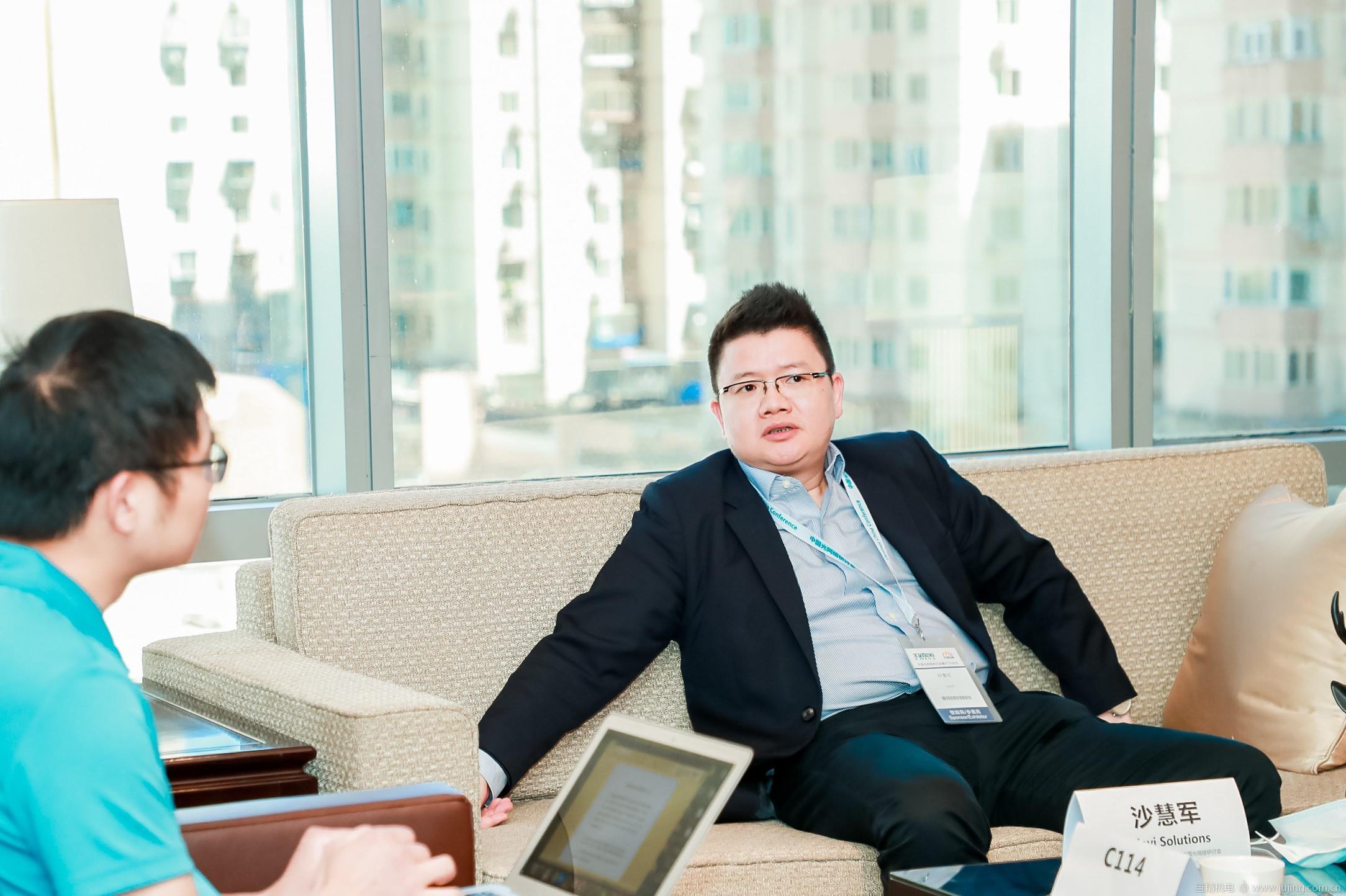 VIAVI沙慧军:提前布局800G测试 与中国光模块厂商共成长